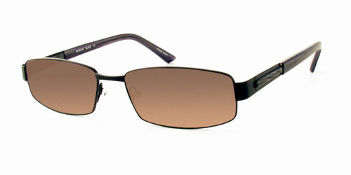 Dale Earnhardt, Jr. 6702 Designer Reading Sunglasses in Satin Black