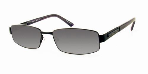 Dale Earnhardt, Jr. 6702 Designer Reading Sunglasses in Satin Black