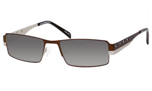 Dale Earnhardt, Jr. 6707 Designer Reading Sunglasses in Brown-Silver