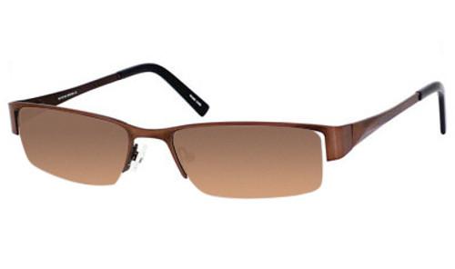 Dale Earnhardt, Jr. 6728 Designer Reading Sunglasses in Brown