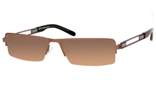 Dale Earnhardt, Jr. 6744 Designer Reading Sunglasses in Brown