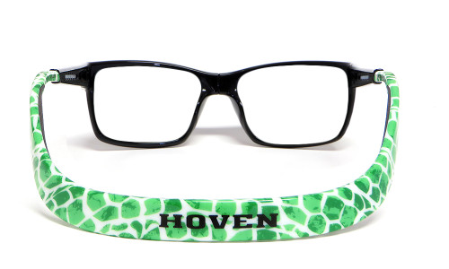Hoven Eyewear MONIX in Black & Green Turtle :: Progressive