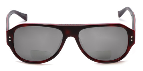 a4b7693351 Lucky Brand Backbeat Polarized Bi-Focal Reading Sunglasses in Tortoise-Pink