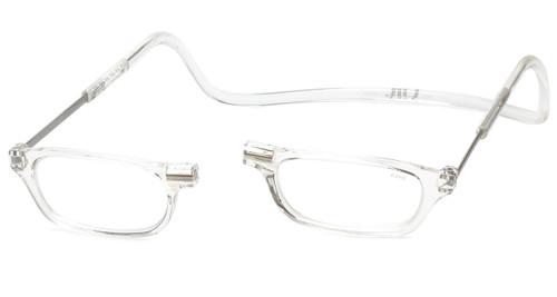 Clic Magnetic Eyewear Regular Fit Original Style in Clear :: Custom Left & Right Lens