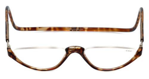 Clic Magnetic Reading Glasses Tortoise Sonoma Style :: Regular Fit