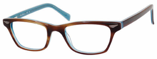 04b02642f57 Eddie Bauer Designer Eyeglasses 8281 in Blonde Blue    Custom Left   Right  Lens