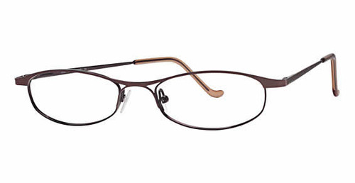 Joan Collins Eyeglass Collection 9668 in Brown :: Custom Left & Right Lens