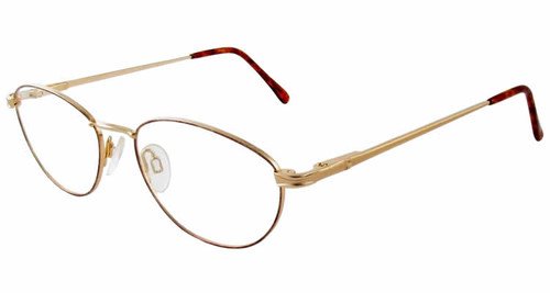 Marcolin Designer Eyeglasses 2038 in Gold :: Custom Left & Right Lens