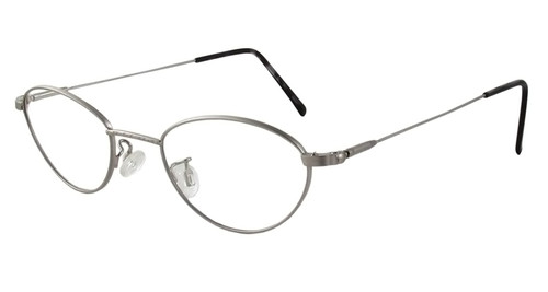 Marcolin Designer Eyeglasses 6395 45 mm in Silver :: Custom Left & Right Lens