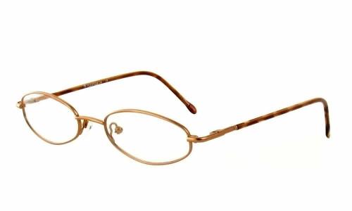 Calabria FlexPlus 74 Brown Satin Eyeglasses :: Custom Left & Right Lens