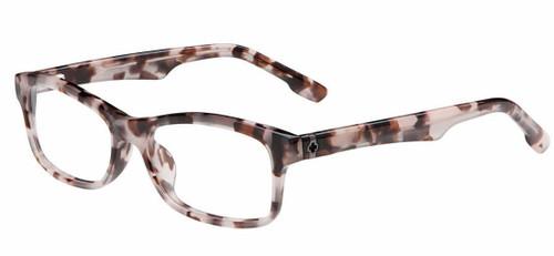 Spy+ Rx Designer Eyeglasses Skylar in Black-Rose :: Custom Left & Right Lens