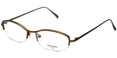 Vera Wang Designer Eyeglasses Catherine 2 in Gold-Bronze :: Custom Left & Right Lens