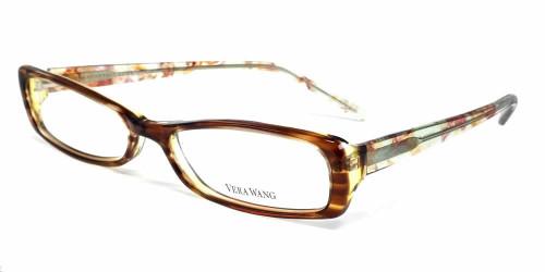 Vera Wang Designer Eyeglasses V050 in Tabac :: Custom Left & Right Lens