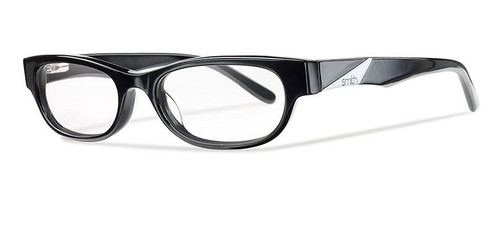 Smith Optics Designer Optical Eyewear Accolade in Black :: Custom Left & Right Lens