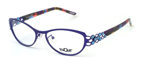 BOZ Optical Swiss Designer Eyeglasses :: Resille (7022) :: Custom Left & Right Lens