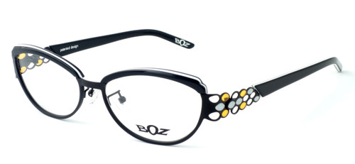 BOZ Optical Swiss Designer Eyeglasses :: Rumba (0060) :: Custom Left & Right Lens