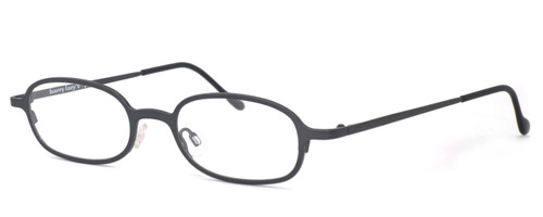 Harry Lary's French Optical Eyewear Bart Eyeglasses in Gun (329) :: Custom Left & Right Lens
