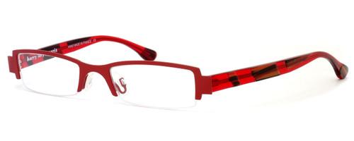 Harry Lary's French Optical Eyewear Bloody Eyeglasses in Red (360) :: Custom Left & Right Lens