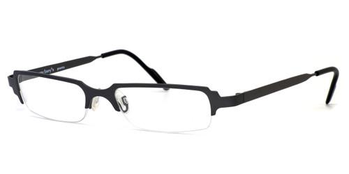 Harry Lary's French Optical Eyewear Clubby Eyeglasses in Gunmetal (329) :: Custom Left & Right Lens