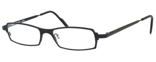 Harry Lary's French Optical Eyewear Victory in Black (101) :: Custom Left & Right Lens