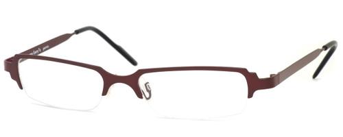 Harry Lary's French Optical Eyewear Clubby in Violet (707) :: Custom Left & Right Lens
