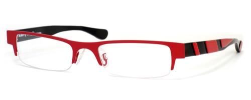 Harry Lary's French Optical Eyewear Creamy in Red Black (929) :: Custom Left & Right Lens
