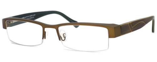 Harry Lary's French Optical Eyewear Dynasty in Gold Green (456) :: Custom Left & Right Lens