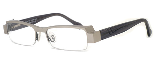 Harry Lary's French Optical Eyewear Galaxy in Silver Grey (000) :: Custom Left & Right Lens