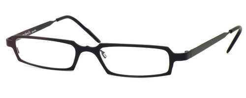 Harry Lary's French Optical Eyewear Hutchy in Black (101) :: Custom Left & Right Lens