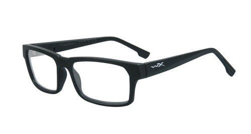 Wiley-X Profile Optical Eyeglass Collection in Matte-Black (WSPRF01) :: Custom Left & Right Lens