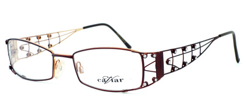 Caviar Optical Eyeglass Collection M1914 in Wine (C16) :: Custom Left & Right Lens