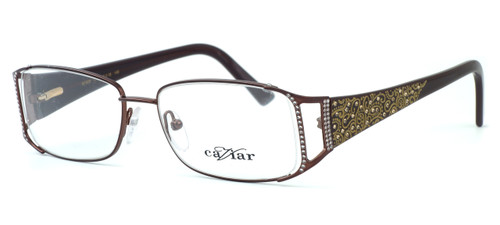 Caviar Optical Eyeglass Collection M1808 in Wine (C16) :: Custom Left & Right Lens