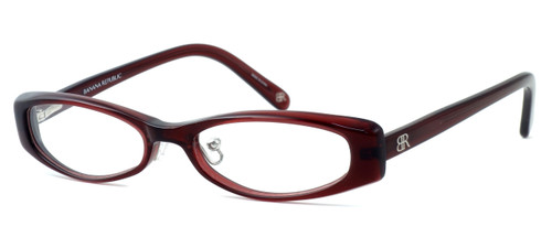 "Banana Republic ""Breanna"" Designer Eyeglasses in Wine (EPE) :: Custom Left & Right Lens"