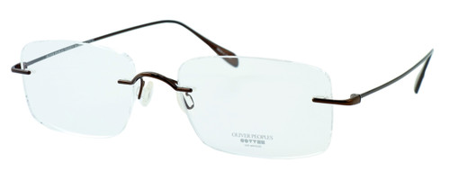 Oliver Peoples Optical Eyeglasses 678B in Brown :: Custom Left & Right Lens
