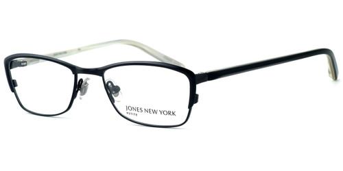 Jones New York Designer Eyeglasses J124 Black :: Custom Left & Right Lens