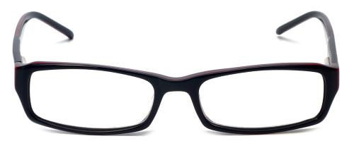 Calabria Designer Eyeglasses 819 Black :: Custom Left & Right Lens