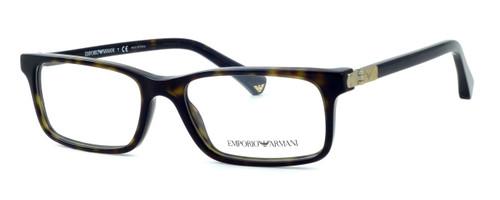 Emporio Armani Designer Eyeglasses EA3005-5026 in Tortoise :: Custom Left & Right Lens