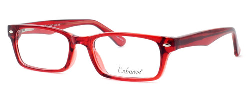 Enhance Optical Designer Eyeglasses 3928 in Burgundy :: Custom Left & Right Lens
