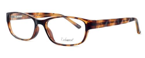 Enhance Optical Designer Eyeglasses 3959 in Tortoise :: Custom Left & Right Lens