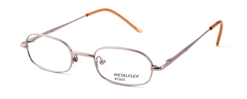 Calabria Kids Fit MetalFlex Designer Eyeglasses 1005 in Pink :: Custom Left & Right Lens