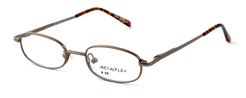 Calabria Kids Fit MetalFlex Designer Eyeglasses FF in Brown :: Custom Left & Right Lens