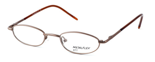 Calabria Kids Fit MetalFlex Designer Eyeglasses TT in Brown :: Custom Left & Right Lens