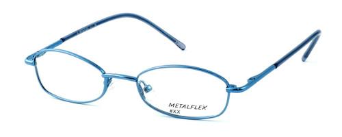Calabria Kids Fit MetalFlex Designer Eyeglasses XX in Blue :: Custom Left & Right Lens