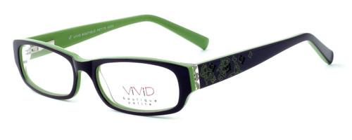 "Calabria Optical Designer Eyeglasses ""Petite"" Kids Fit 6005 in Brown :: Custom Left & Right Lens"