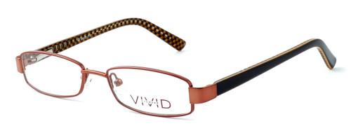 Calabria Viv Kids 117 Designer Eyeglasses in Brown :: Custom Left & Right Lens