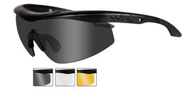 a6539896da Wiley X Rx Talon in Matte Black   3-Lens Set Smoke