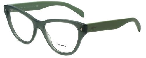 3dda32cfefca Prada Designer Eyeglasses VPR23S-UEI1O1 in Green 54mm    Custom Left    Right Lens
