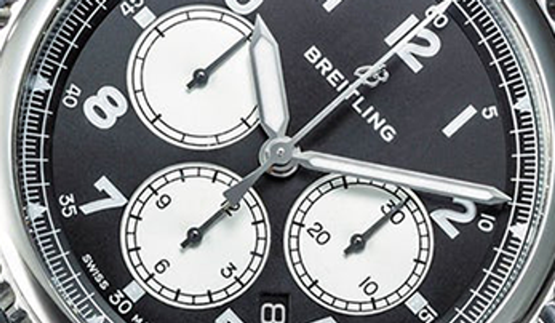 "A First Look at the ""New"" Breitling and It's First Chronograph"