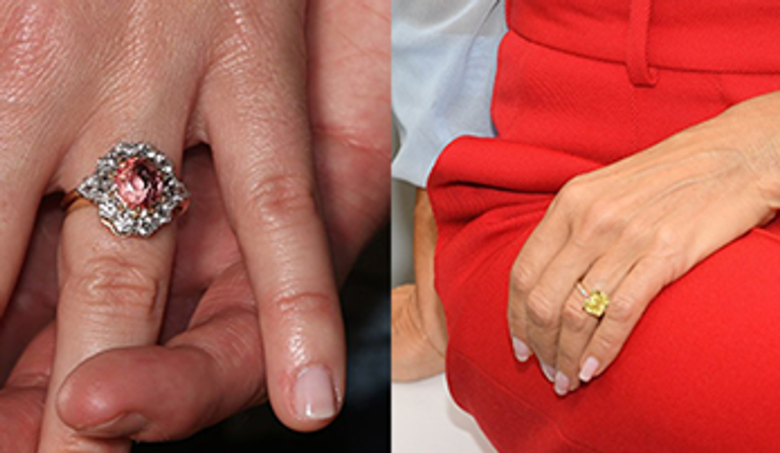 Our Favorite Celebrity Engagement Rings  of 2018