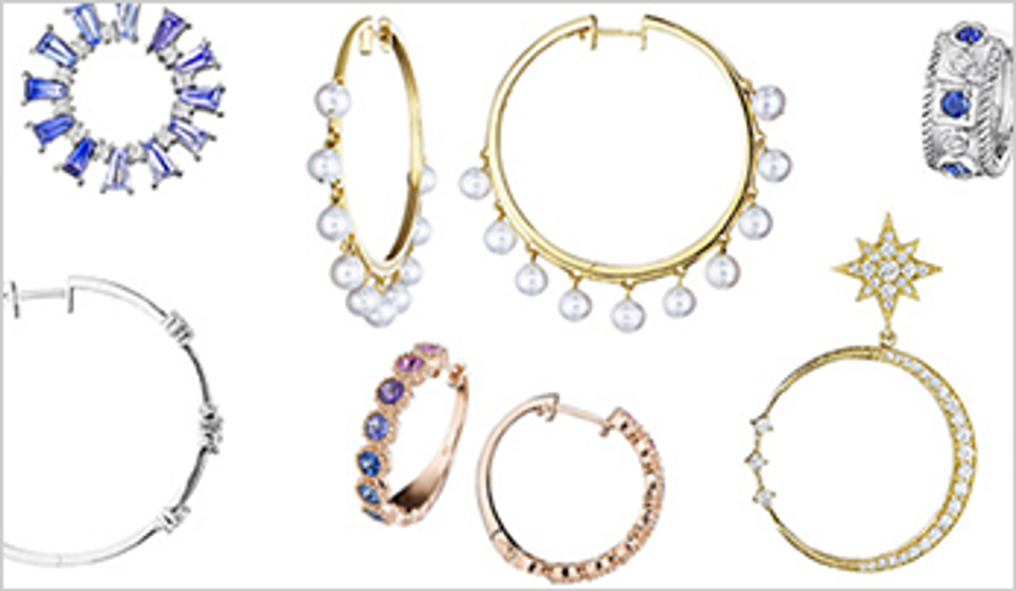 Throwback to the 80s: Our Favorite Hoop Earrings
